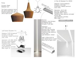 Lighting information