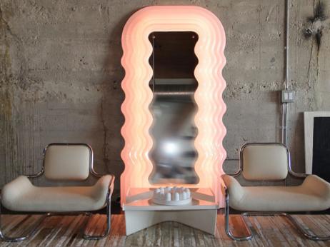 Poltronova Ultrafragola Mirror / Lamp